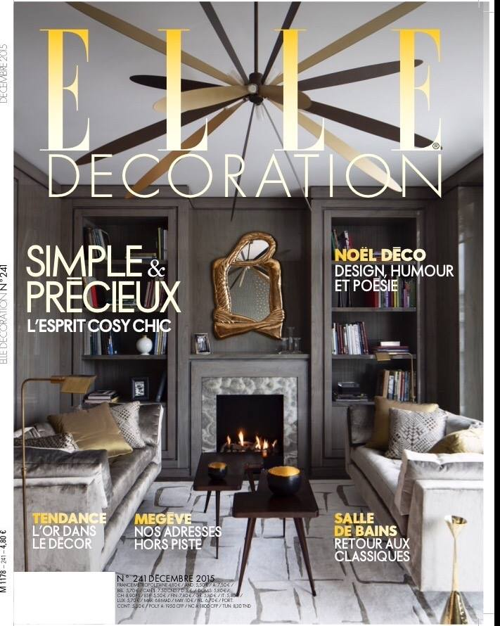 cover elle decoration france december 2015