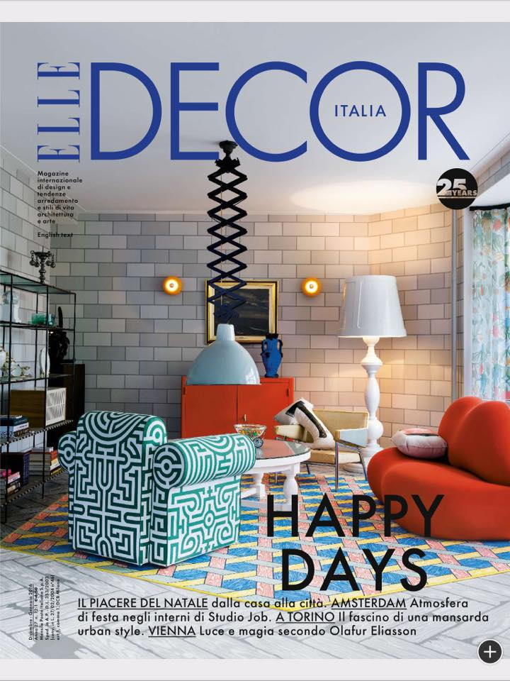 cover elle decor italia december 2015